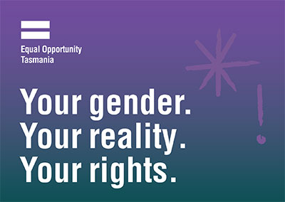 Your gender. Your reality. Your rights.