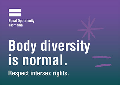 Body diversity is normal. Respect intersex rights.